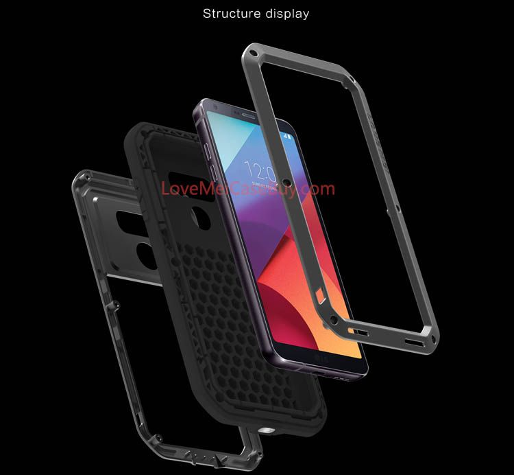 Love Mei Powerful LG G6 Protective Case