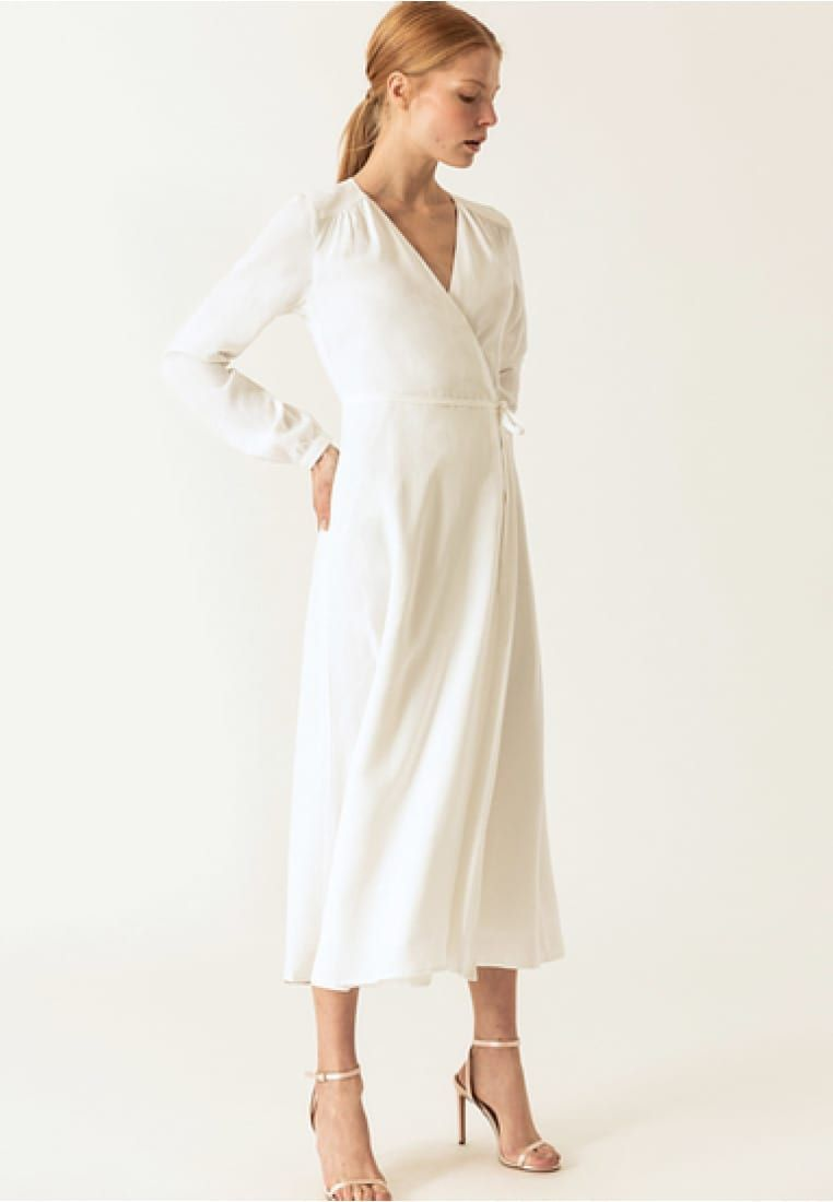 Zalando Maxi Jurk.Wrap Dress Maxi Jurk Snow White Zalando Nl In 2019 My