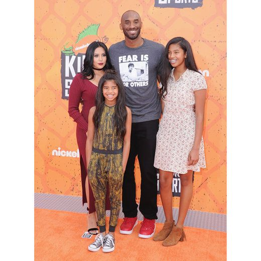 f2fd5f7b378 Kobe Bryant and family along with dozens of other celebrities arrive for  some fun at the Nickelodeon Kids  Choice Sports Awards