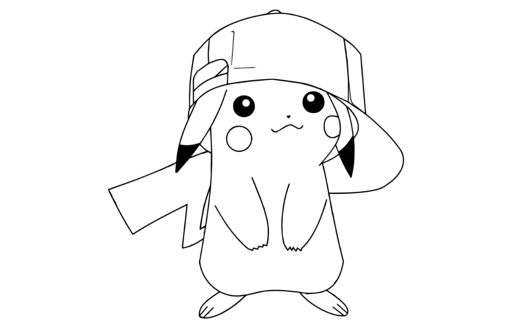 Free Pokemon Coloring Pages Detective Pikachu To Printable For Adults Pokemon Coloring Puppy Coloring Pages Disney Princess Coloring Pages