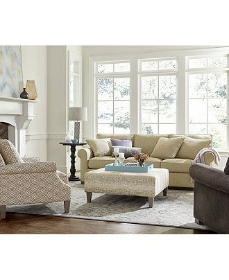 Kelly Ripa Camley Sofa Collection Furniture Macy S Home
