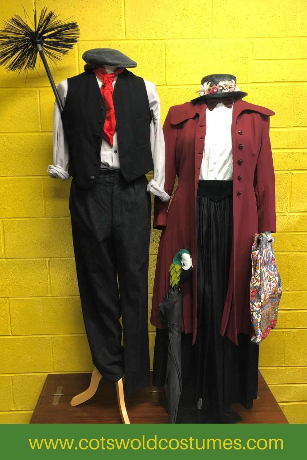 Mary Poppins and Bert Couples Costume Ideas Cotswold