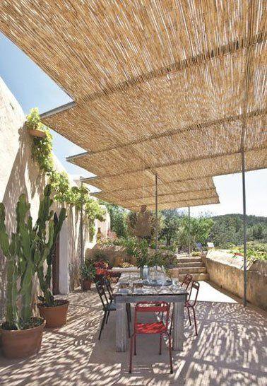 8 belles déco de terrasses abritées par une pergola | Pergolas ...