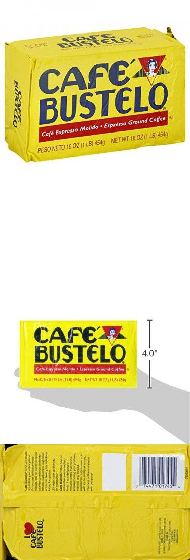 Cafe Bustelo Espresso Coffee 16 Ounce Pack Of 12 Espresso Coffee Espresso Cafe Bustelo