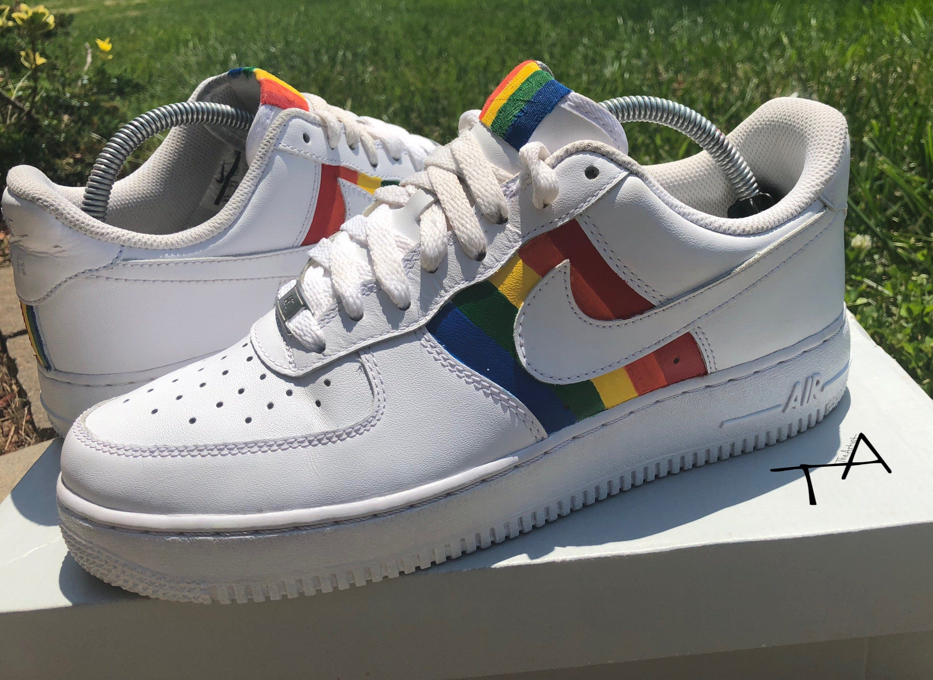 Nike Air Force 1 6ix9ine Rainbow Custom | Tenis | Zapatos