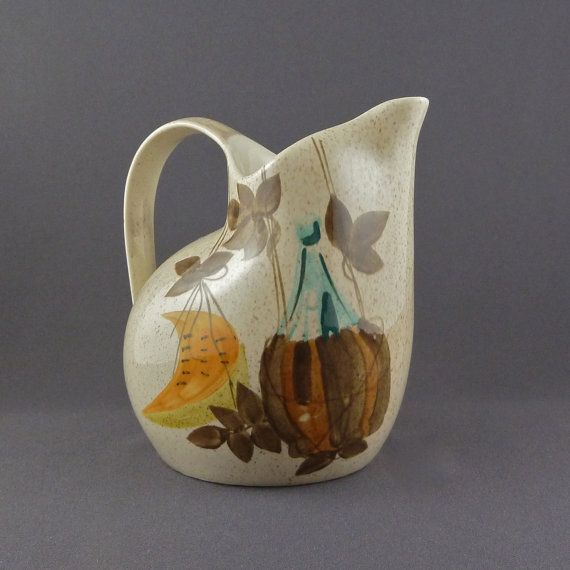 Red Wing Charles Murphy pitcher in the T&ico pattern & Red Wing Charles Murphy pitcher in the Tampico pattern ...