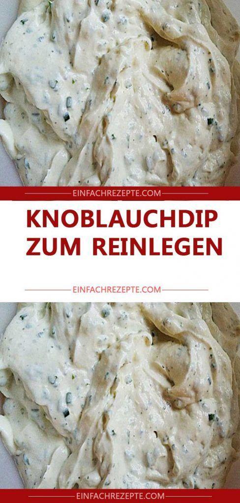 Knoblauchdip zum Reinlegen , in nur 5 Minuten fertig ???? ???? ???? #kochenundbacken