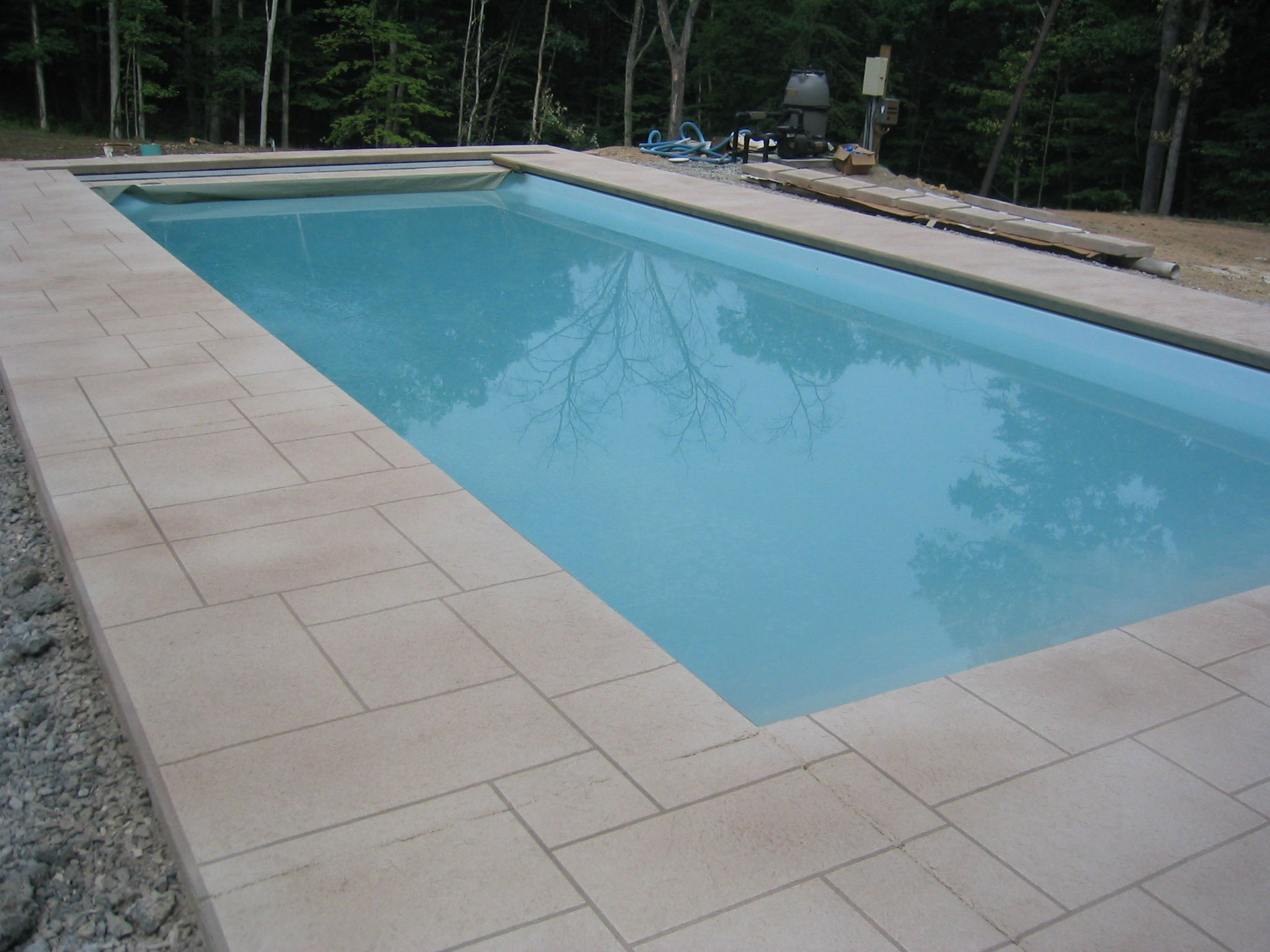 Stamped Concrete Is An Ideal Pool Deck Surface Combining The Attributes Of Beauty Durability