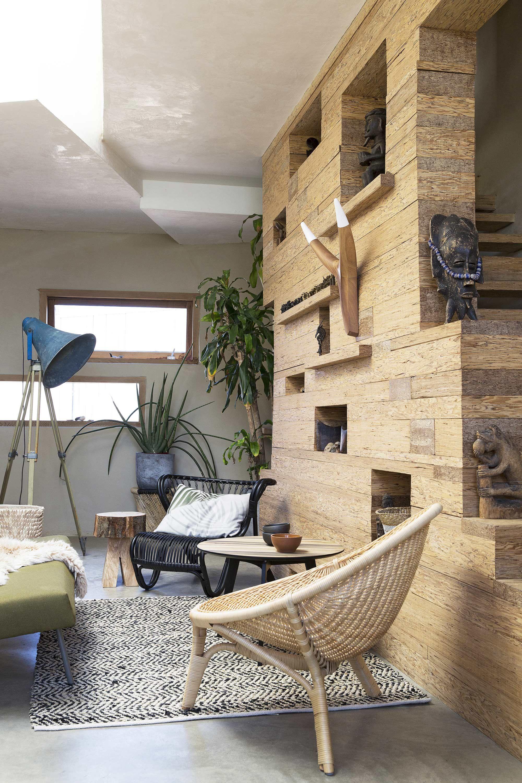 INTERIOR DESIGN | woonkamer botanisch hout | via @vtwonen | For ...