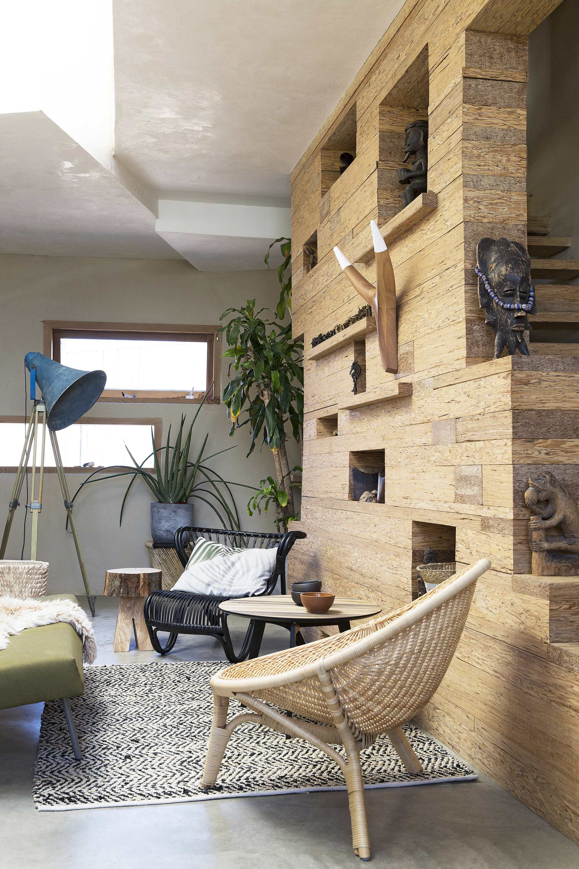 INTERIOR DESIGN | woonkamer botanisch hout | via @vtwonen | For the ...