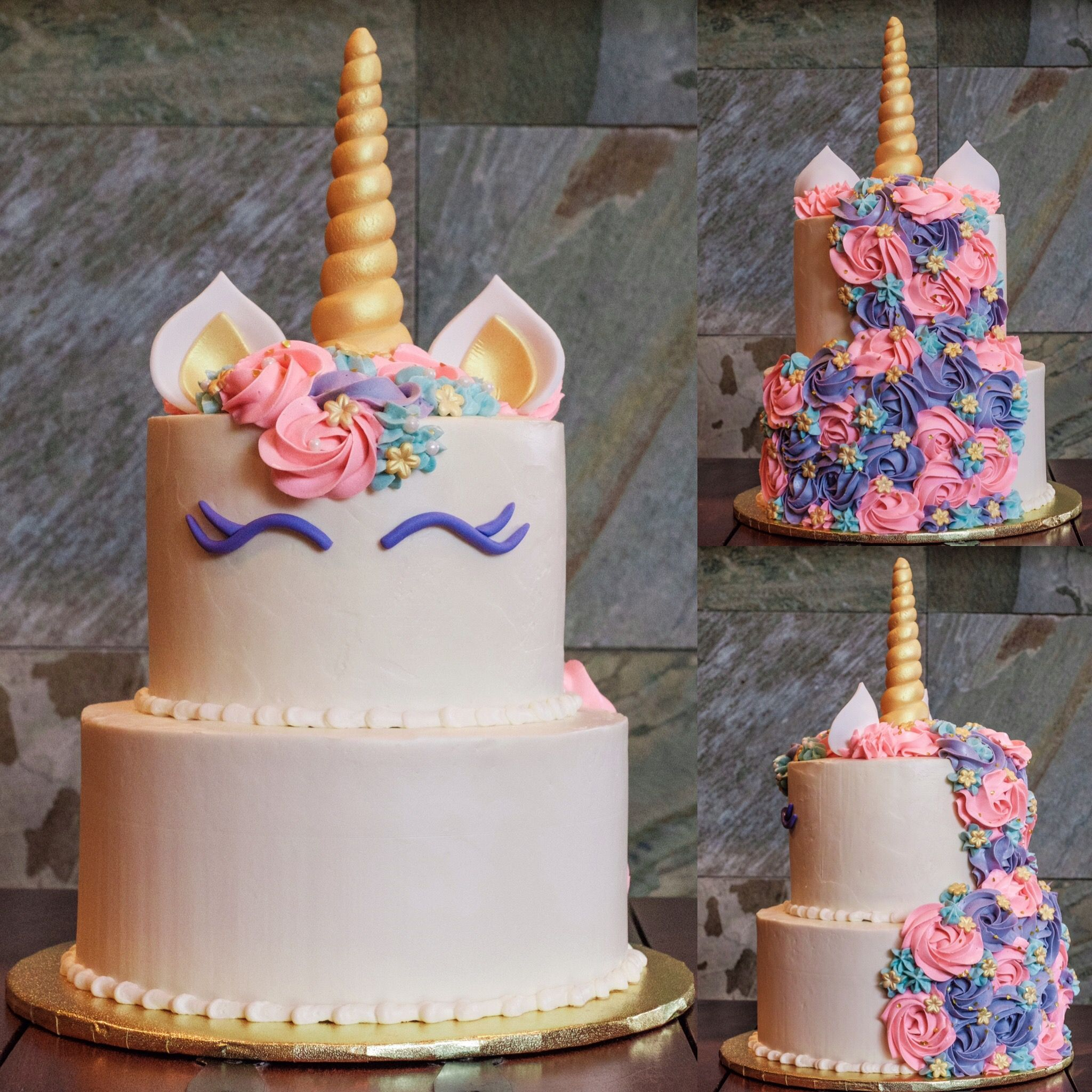Cake Ideas For One Year Old: A Unicorn Cake For A One Year Old's Birthday, Made By For