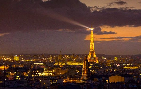 View of Paris from Monmartre