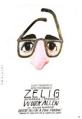 original poster art for zelig