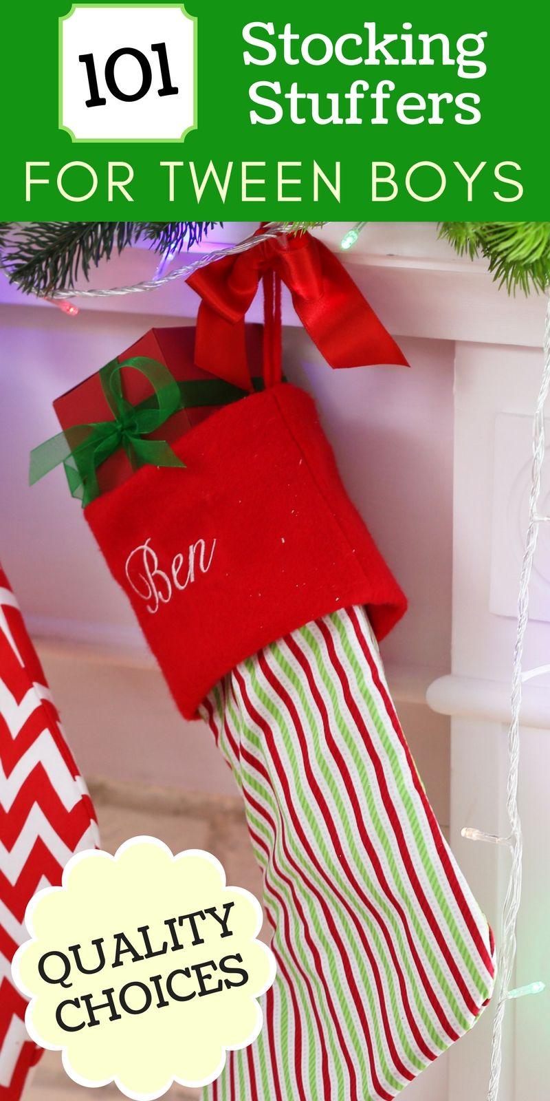 101+ Stocking Stuffer Ideas for Tween Boys That Aren't ...