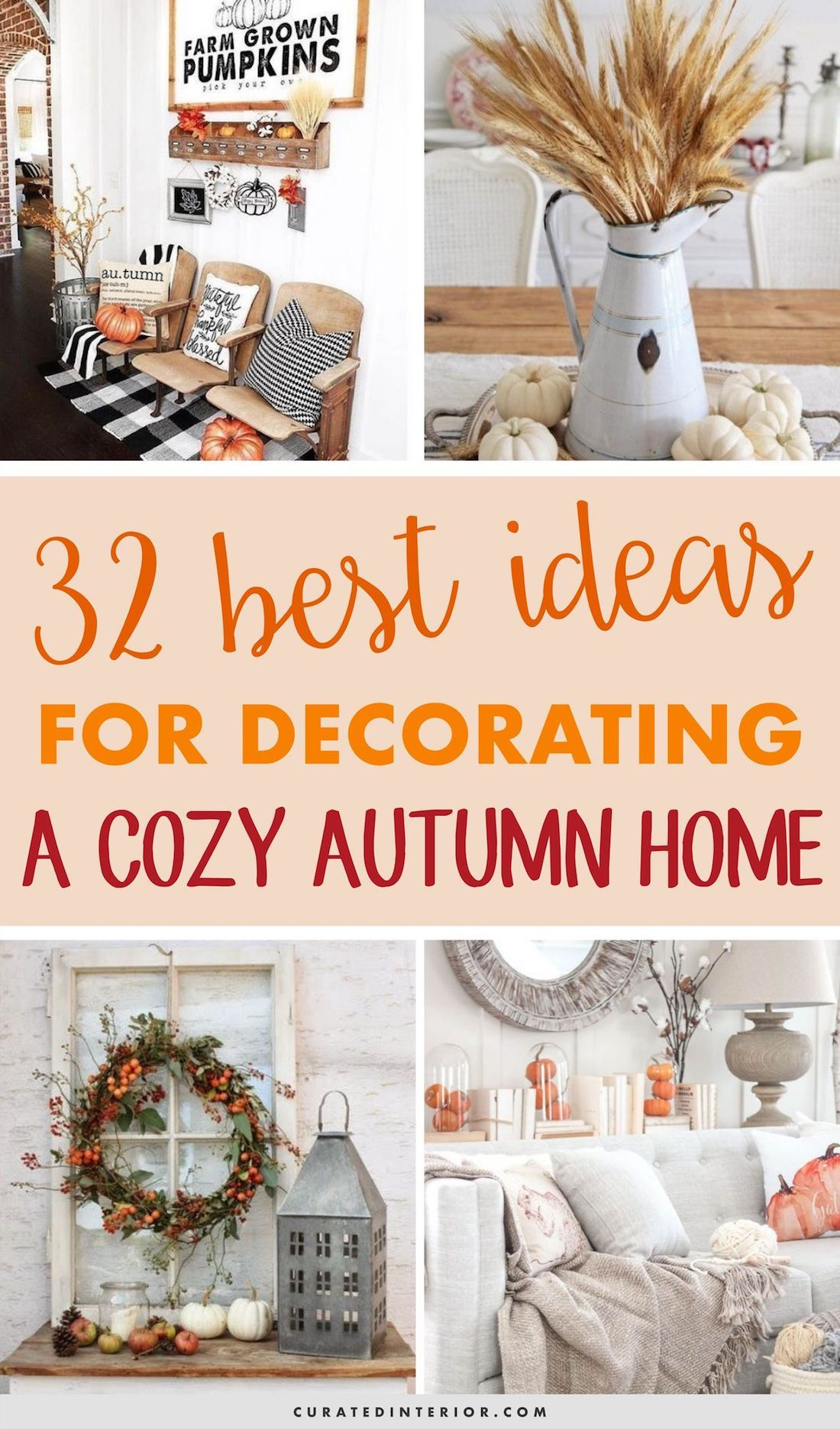 Pin On Curated Interior Autumn living room decorating