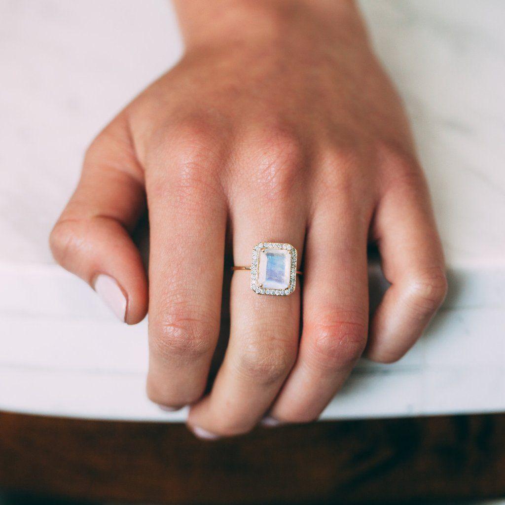 Rainbow moonstone and diamond jewels pinterest rainbow