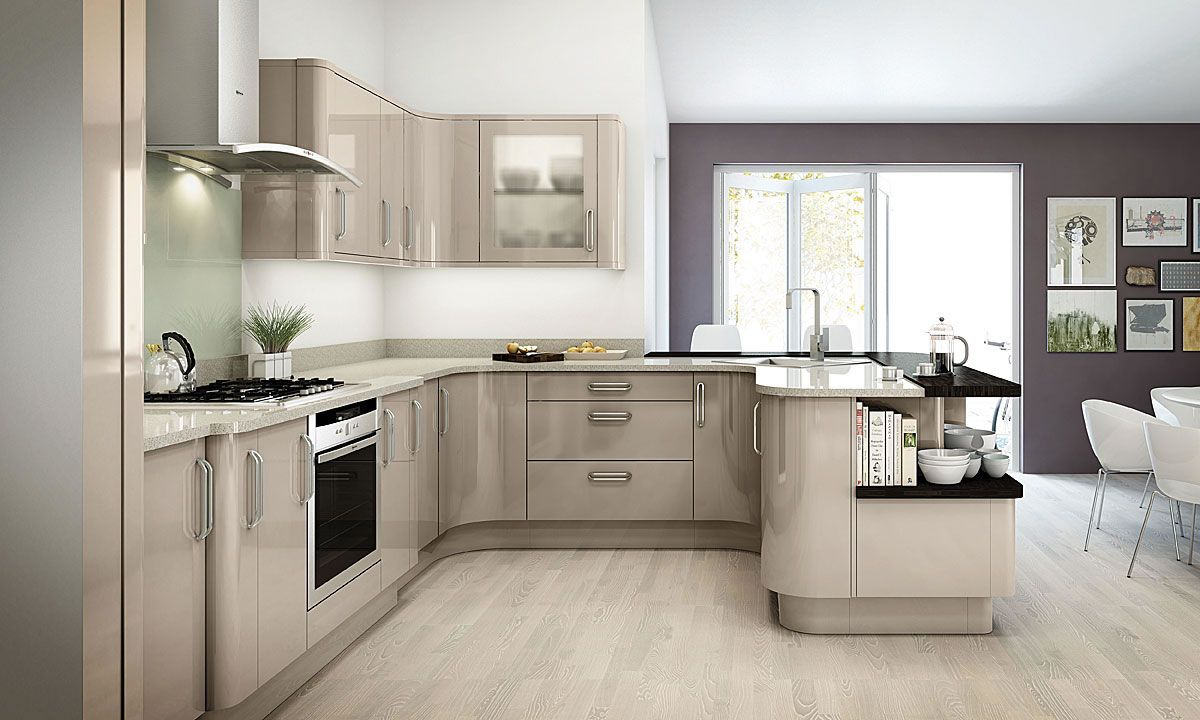 Moores Kitchens Gallery | Kitchen cabinet design, Gloss ...