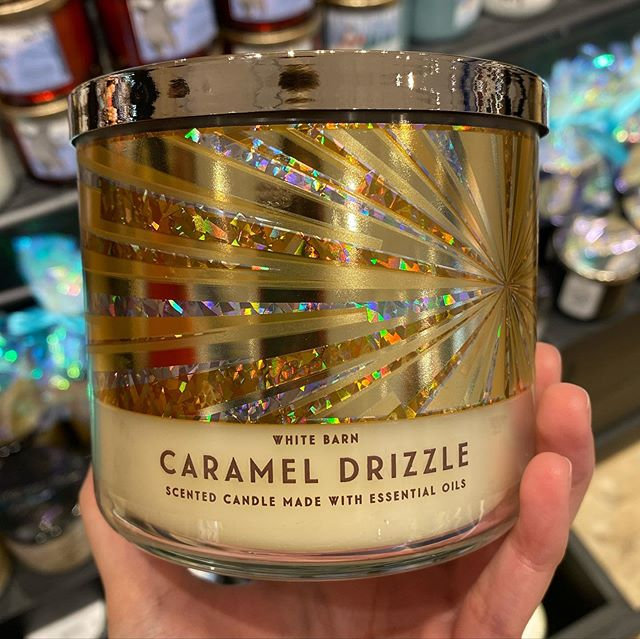 Bath Body Works Caramel Drizzle Candle Essential Oil Candles Candle Obsession Bath Candles