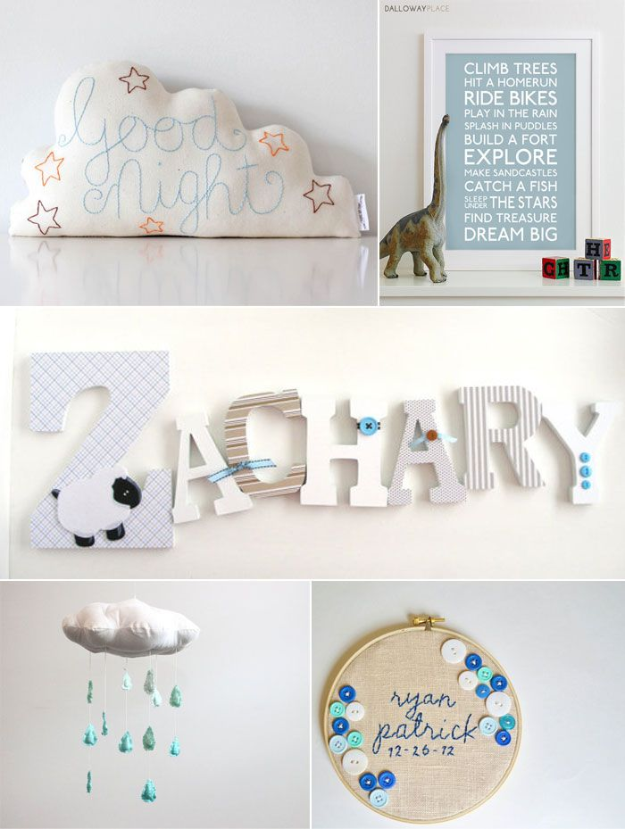 Handmade Items For Baby Boy S Nursery