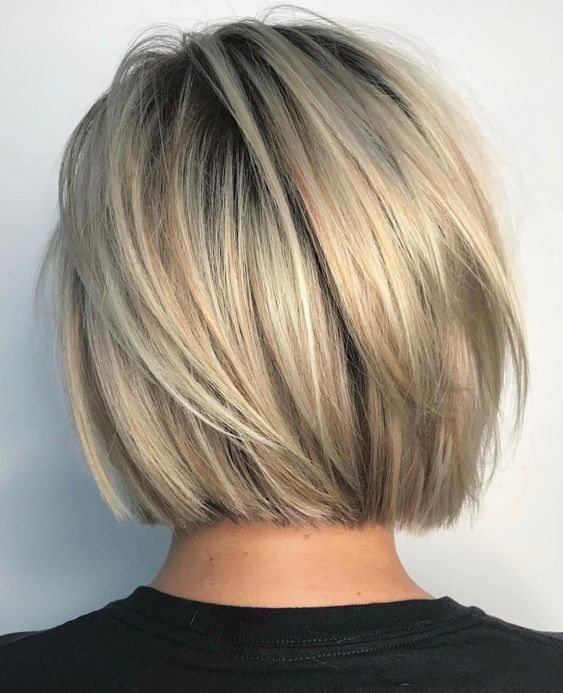 Trendy HairStyles Ideas : The Creative Short Bob Haircuts And Layered Hairstyles #shortlayeredhaircuts