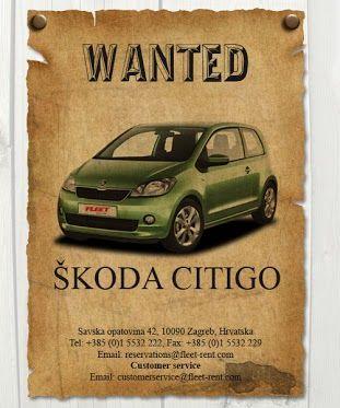 Google Skoda Citigo Thrifty Car Rental Skoda