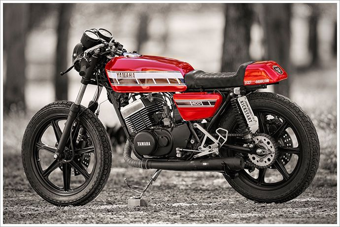 1976 Yamaha RD400 - Kickstart Garage | M O T O R C Y C L E S