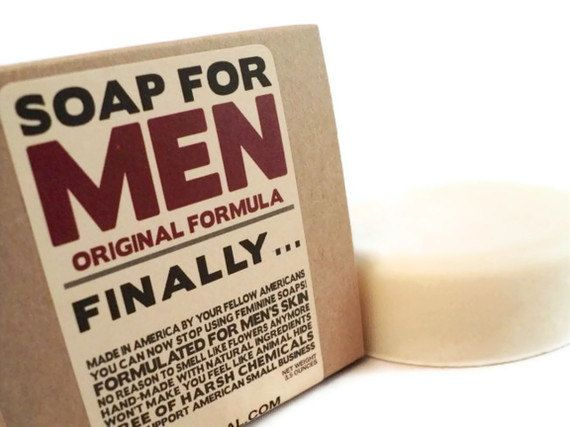 Soap for Men Made Specifically for a Man's Skin Made with Natural
