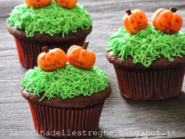 La cucina delle streghe: Halloween pumpkins cupcakes