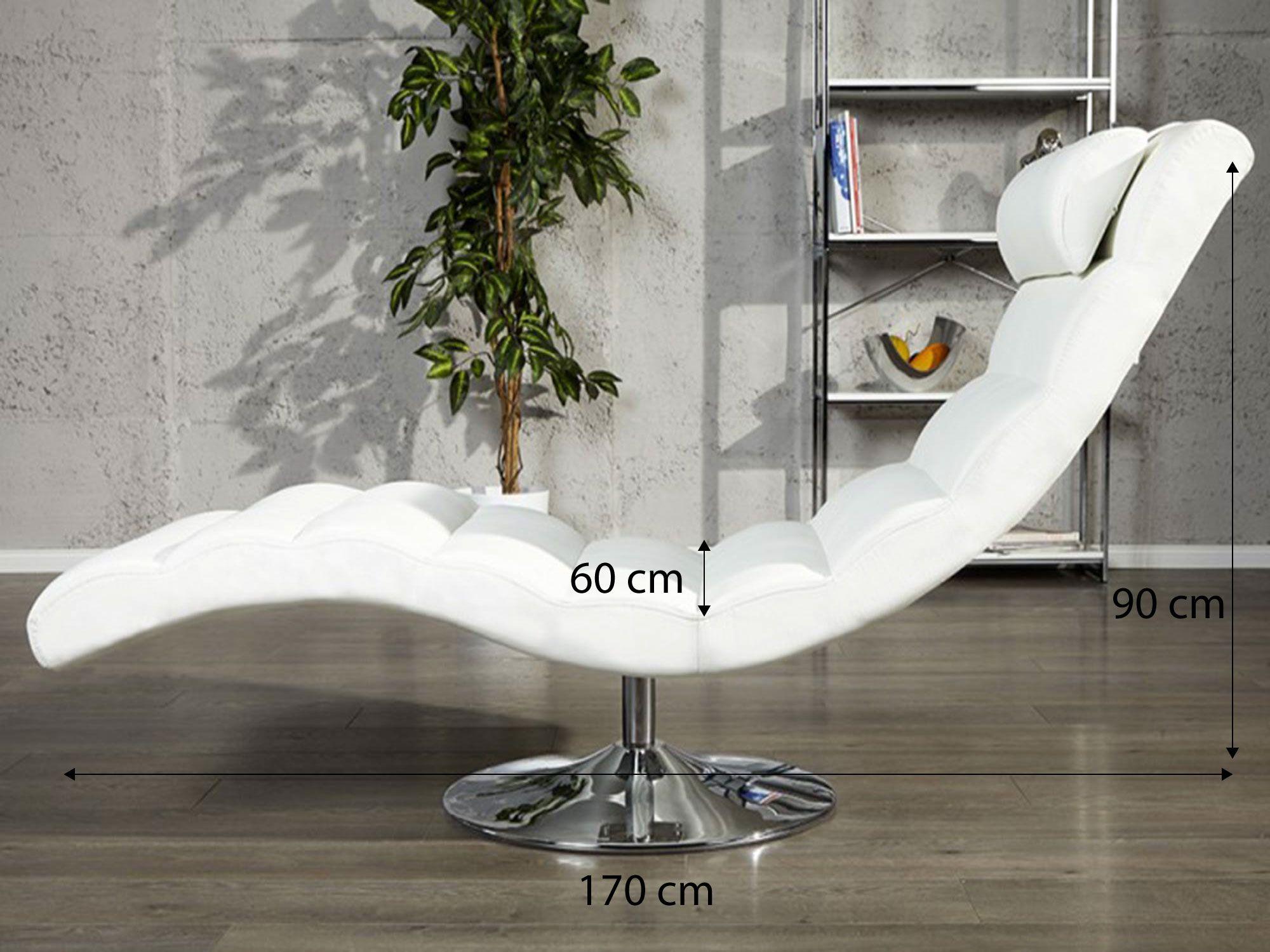 Relax Fauteuil Design.Fauteuil Design Relax Blanc Clara In 2020 Ligstoel Lederen
