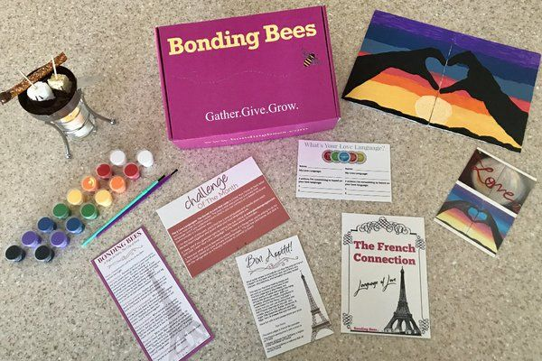 Bonding Bees Monthly Box Subscription Boxes Gift Subscription