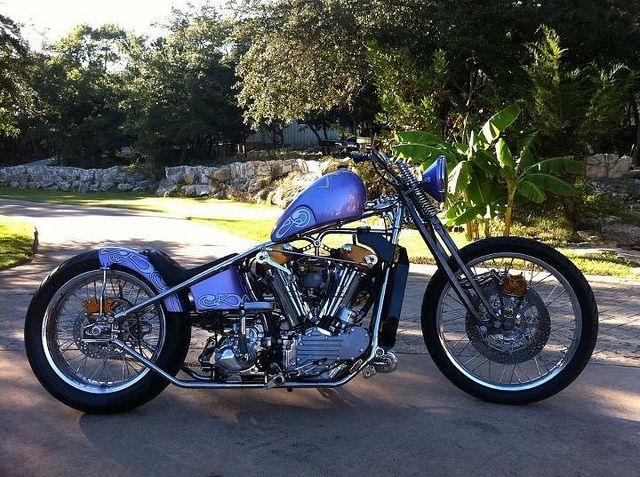 Leo Goosen Designed Watercooled 1937 Harley Davidson Knucklehead