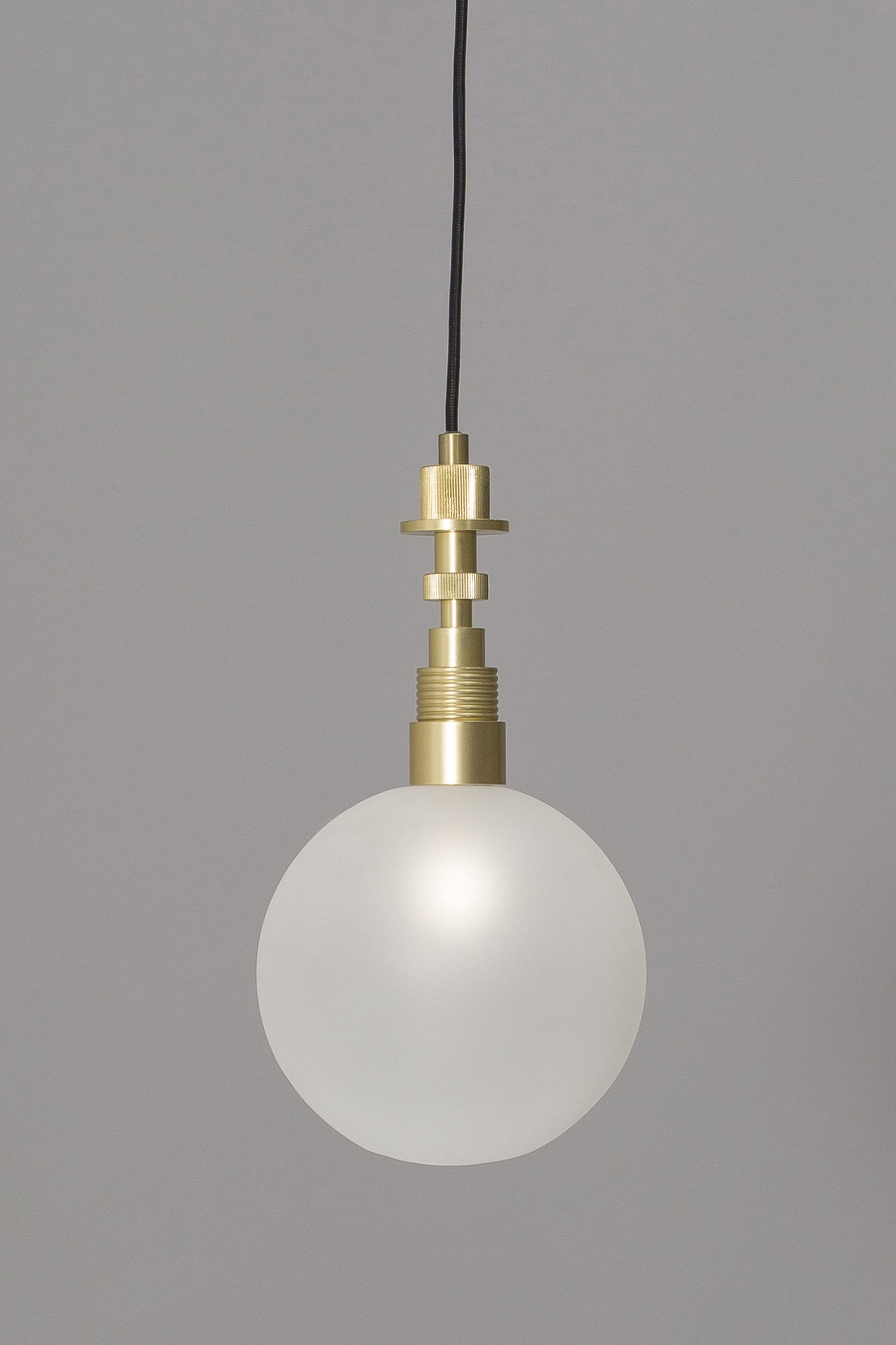 Ned Pendant Light Brass Bhs