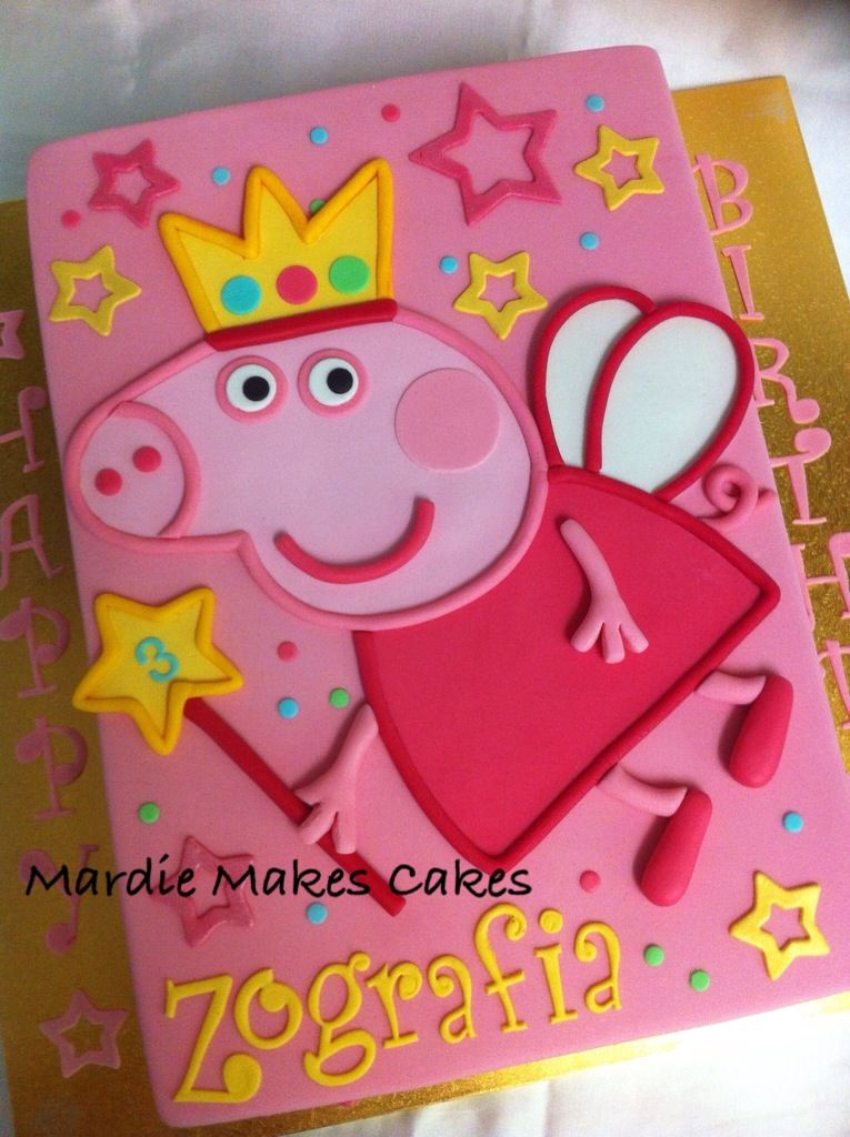 Zoom · Topo de bolo Peppa Pig.. ...