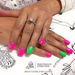 Fun colors! @pinkcitrus_store pinkcitrus zacatecas makeup
