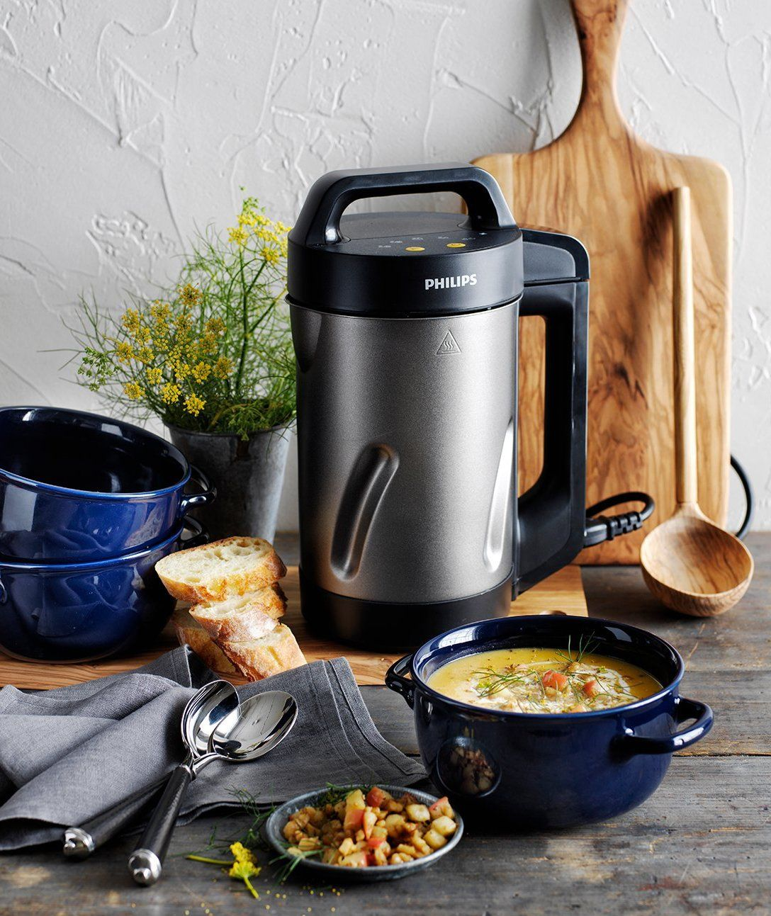 Philips Soup Maker. Countertop, portable and doubles as a ...