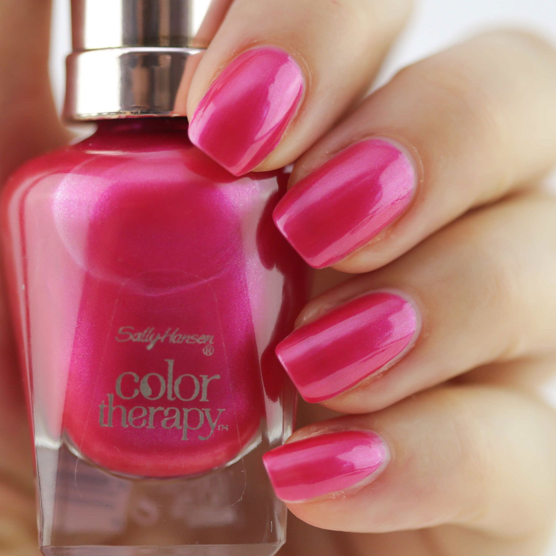 Colour therapy for beauty - Sally Hansen Color Therapy Nail Polish In Rosy Glow