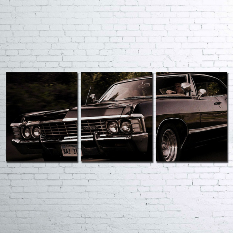 Chevy1968 Classiccars Like Old Classic Cars It S On Promotion Upto 70 Off Find Here Https Www Epi Classic Chevrolet Classic Frame 3 Panel Wall Art