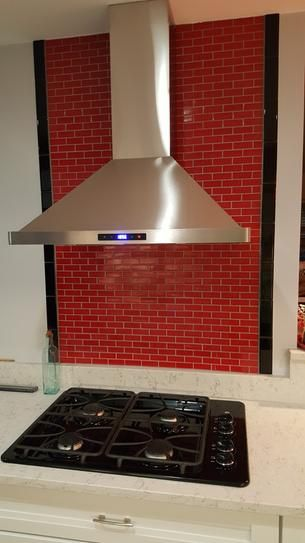 Cosmo 30 In Convertible Wall Mount Range Hood In Stainless Steel With Touch Controls Led Lighting And Permanent F Range Hood Wall Mount Range Hood Led Lights