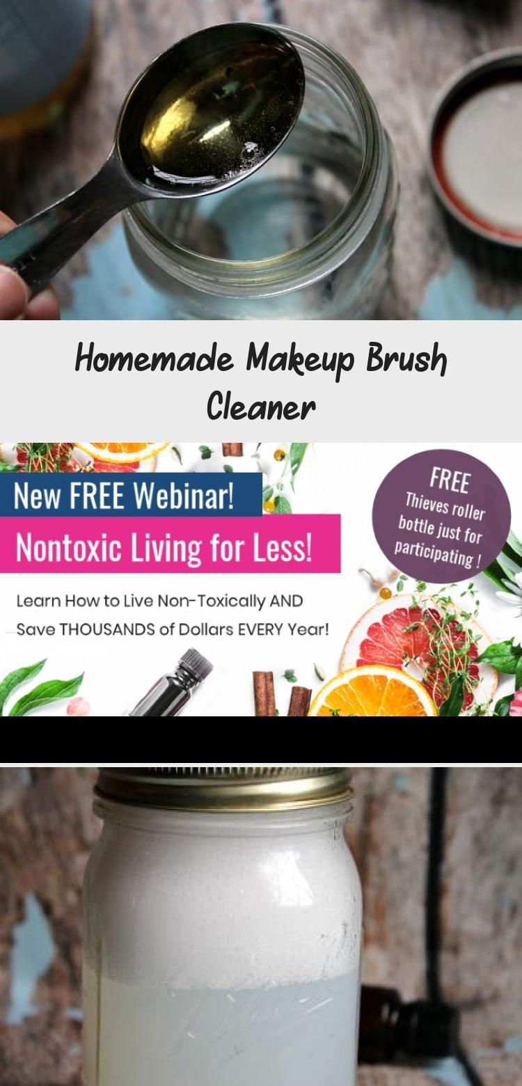 Photo of Homemade Makeup Brush Cleaner – Beauty – Did You Know That Schm …