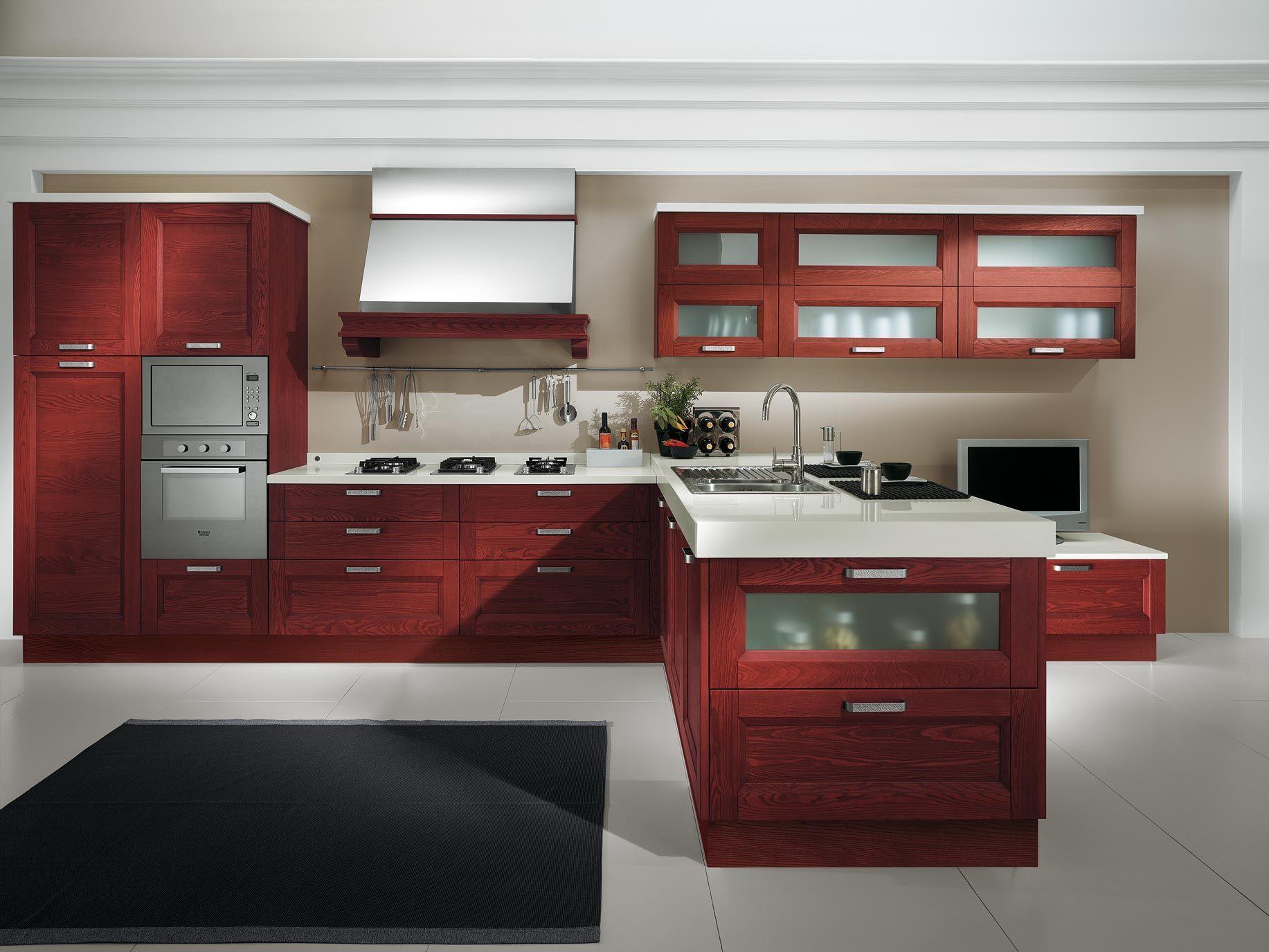 Cucine Moderne Color Ciliegio. Color Tortora Cucina. Cucina Arrital ...