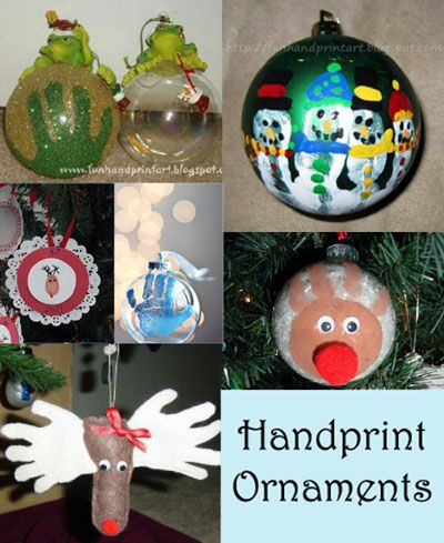 Handprint Ornament Keepsakes 12 Day Of Christmas Pinspiration Handprint Christmas Christmas Crafts Christmas Ornaments Gifts