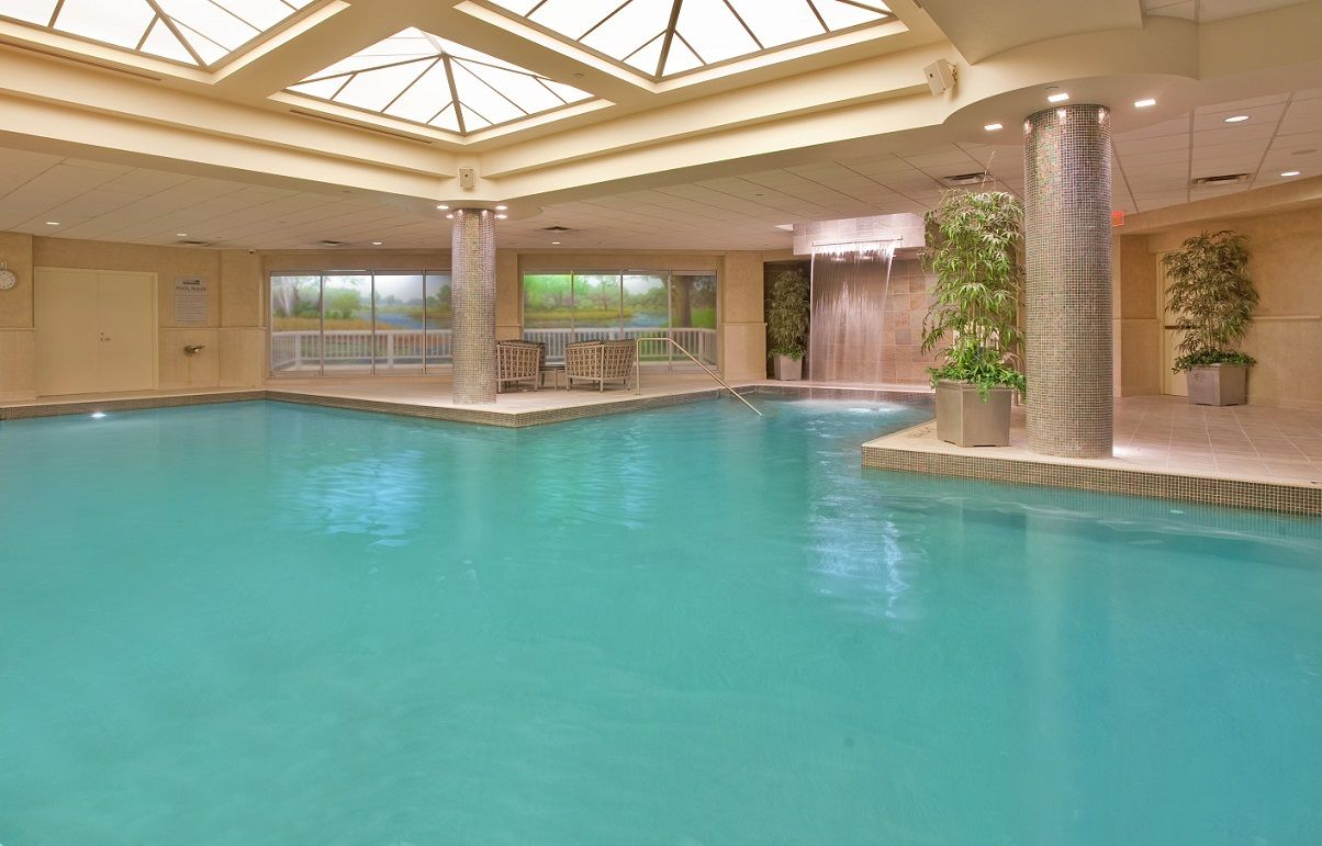 Indoor Pool At The Radisson Plaza Hotel At Kalamazoo Center With