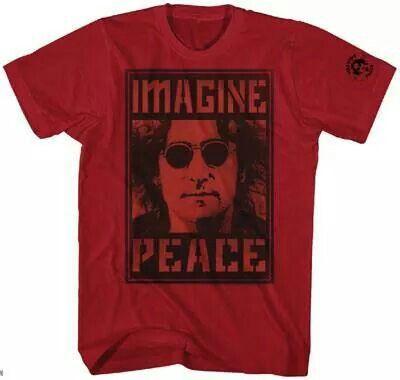 John Lennon TShirt Vintage rock t shirts, Beatles gifts