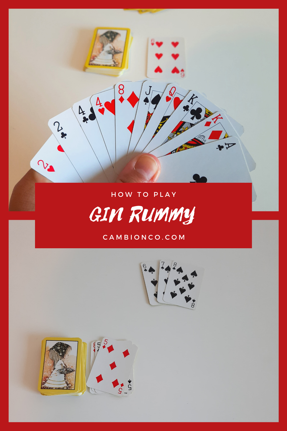 How to Play Gin Rummy in 2020 Gin rummy, Rummy, Gin