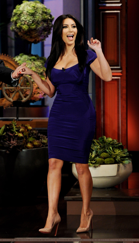 Kim Kardashian Wearing A Tight Dress In New York - Celebzz