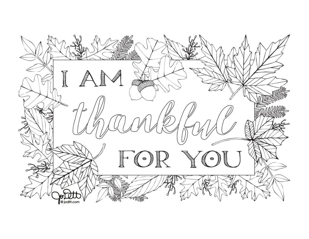 Free Thanksgiving Coloring Pages For Adults And Kids Joditt Designs Free Thanksgiving Coloring Pages Thanksgiving Coloring Pages Coloring Pages