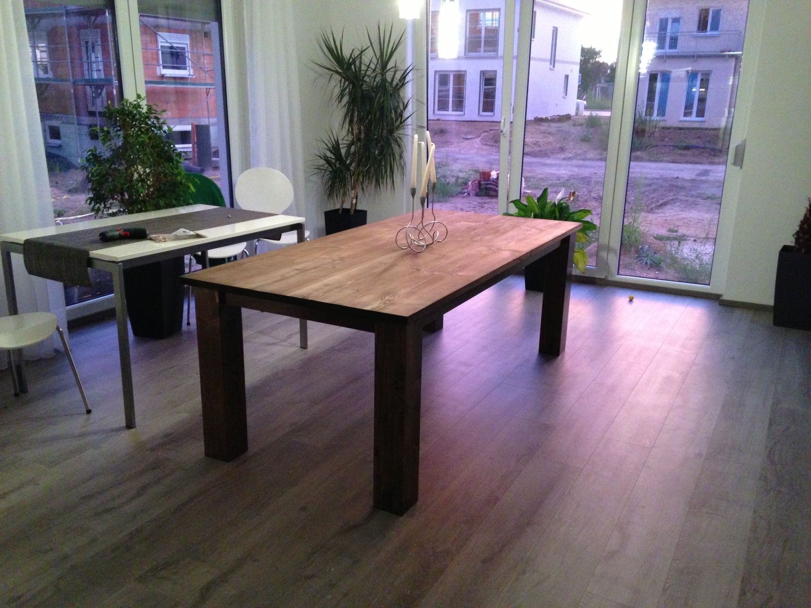Mein Massiver Holztisch Bauanleitung Zum Selber Bauen