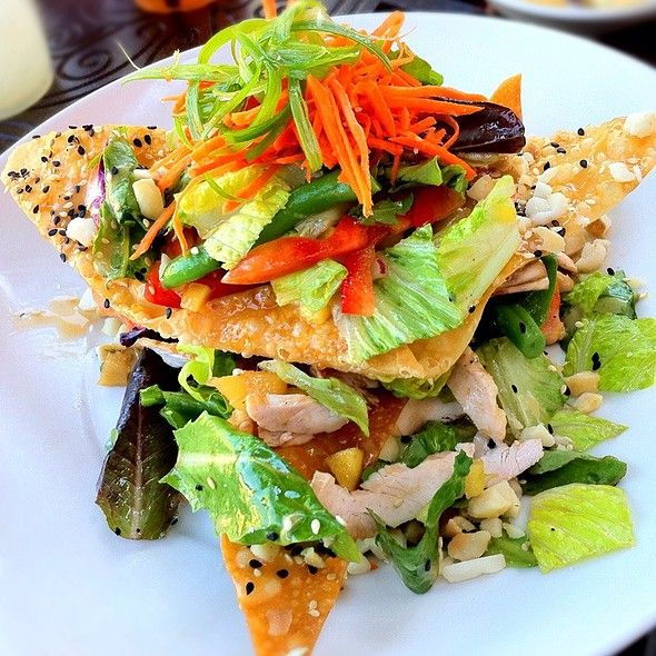 Cheesecake Factory Luau Salad Recipe Restaurant Recipes Salad Recipes Cheesecake Factory Recipes