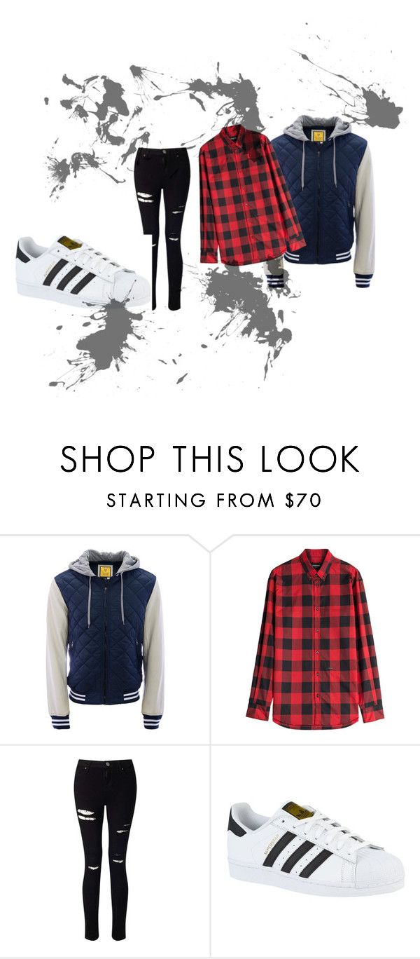 """""""Cool Outfit"""" by jinxallison on Polyvore featuring Aéropostale, Dsquared2, Miss Selfridge and adidas"""