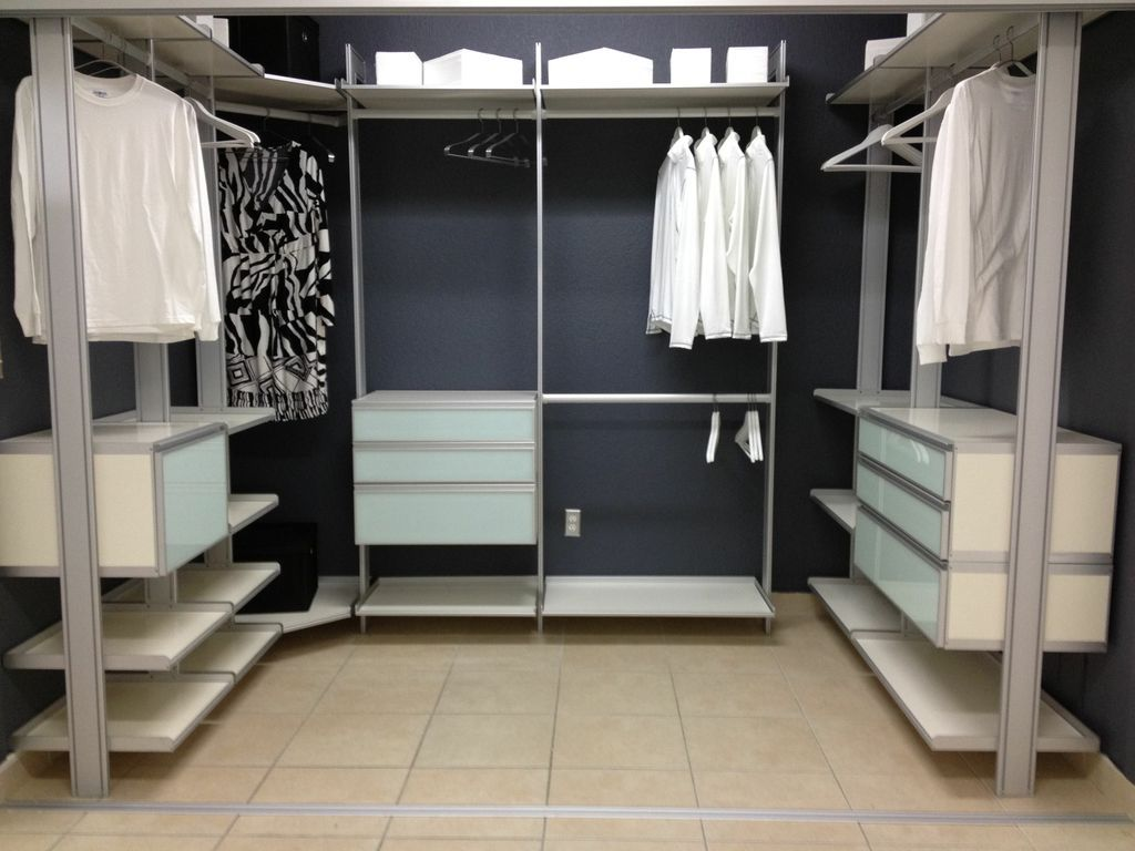 Modern Walk In Closet Without Doors, Customizableu2026